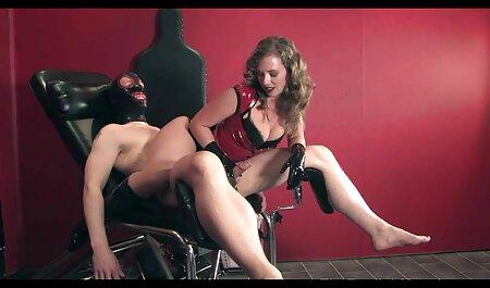 پرشور برهنگی و نوازش کردن از مهبل (واژن) با dildo, فیلم سکسی نیمه بانوان